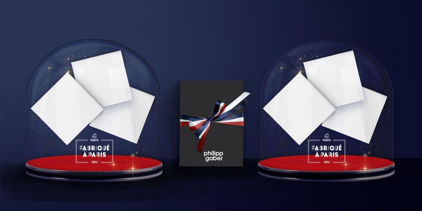 Les mouchoirs en tissu français pur coton biologique PhilippeGaber