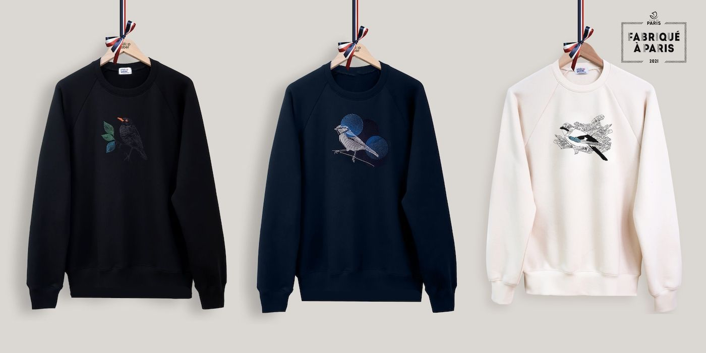 Sweat-shirts bio et Made in France