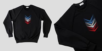 Sweat-shirt made in France en coton bio PhilippeGaber lauréat du label fabriqué à Paris sweat et hoodies pour l'homme et la femme fabrication française éthique et éco-responsable