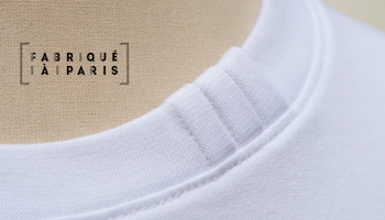 Organic T-shit made in Paris Global organic textil standard T-shirt made in france by PhilippeGaber fabriqué à Paris depuis 2009