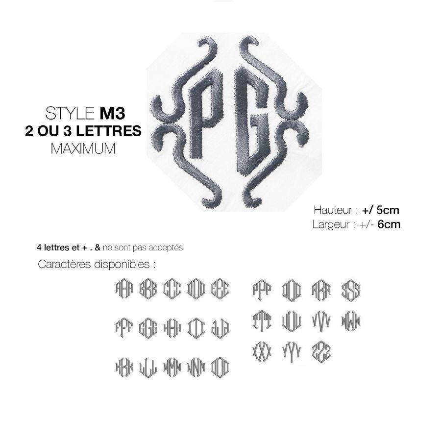 mouchoirs français bio avec vos initiales brodées mouchoirs luxe made in France