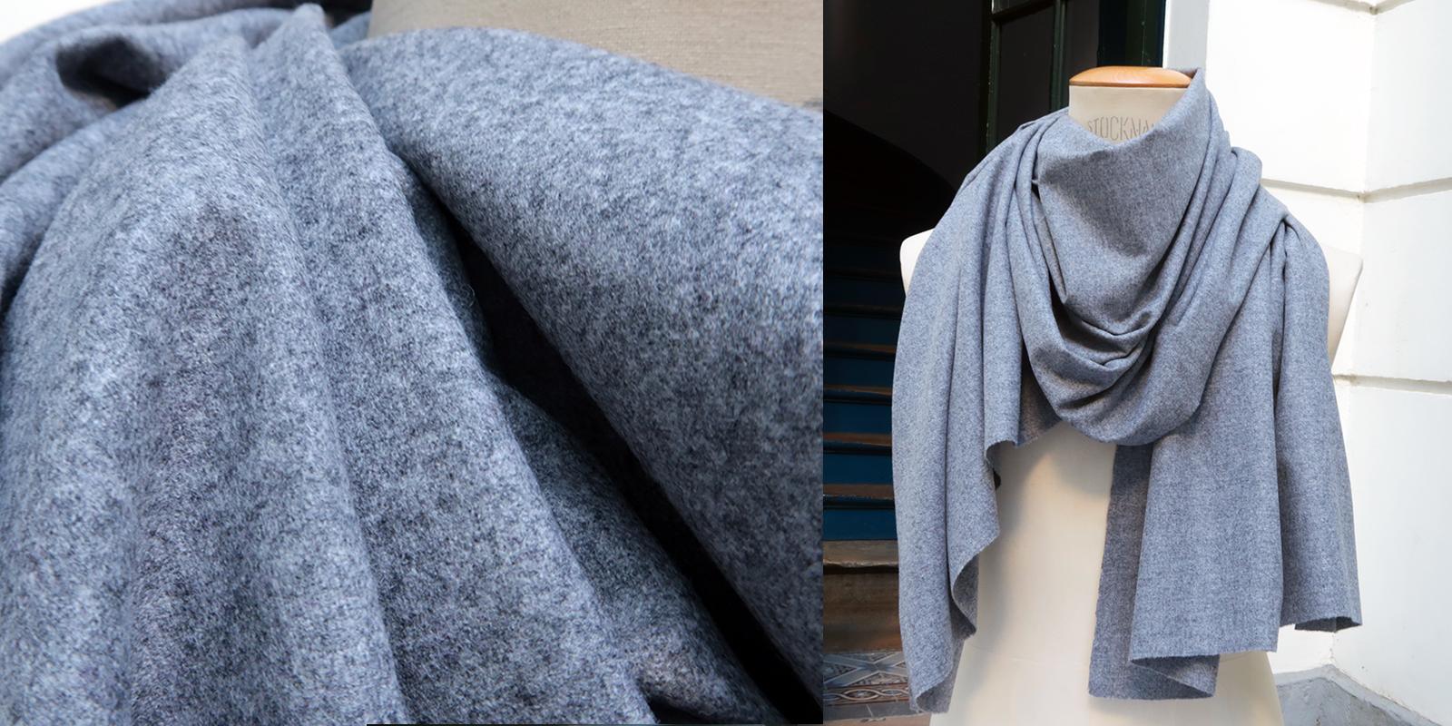 écharpe luxe en pure laine vierge Mérinos pour l'homme et la femme philippe gaber