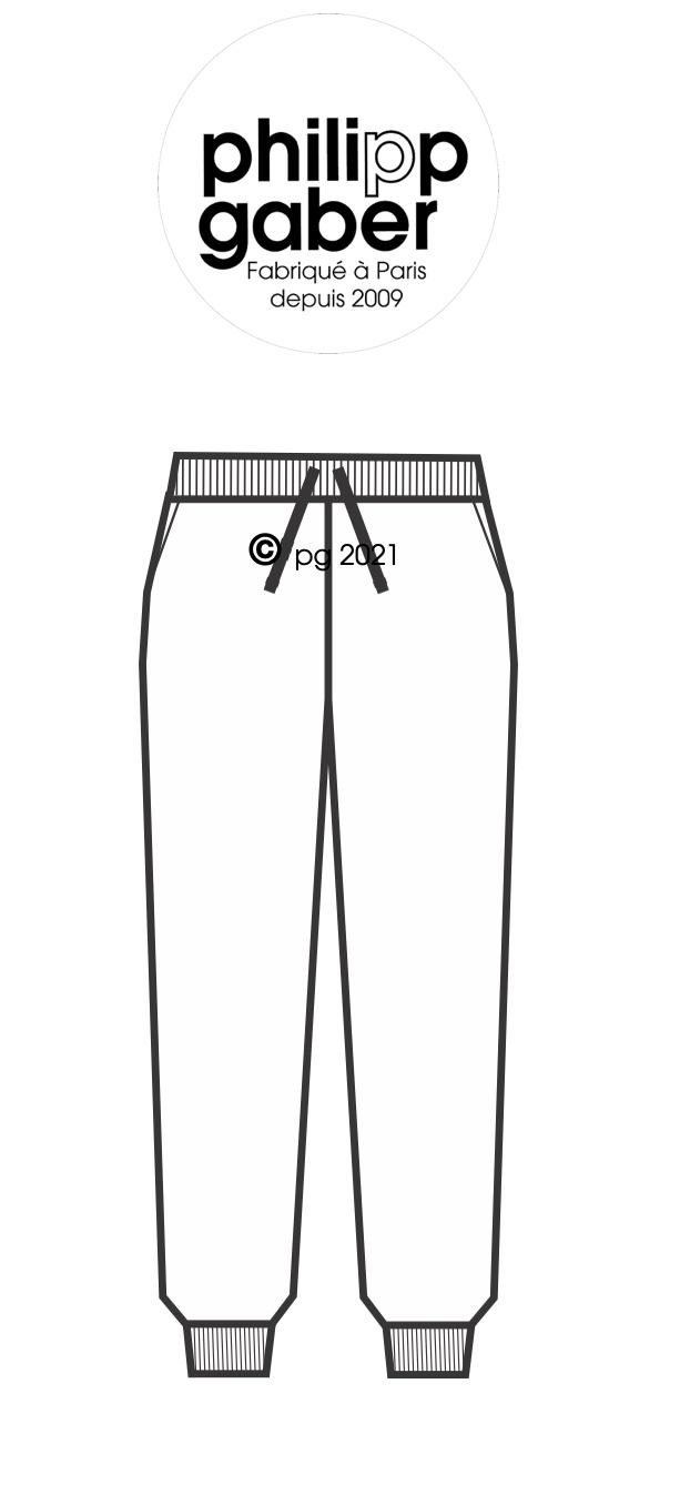 guide des tailles sweat-shirt fabriqués à paris philippegaber