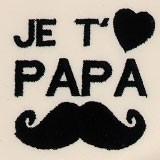 Papa moustache
