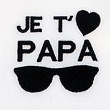 Papa Lunettes noires
